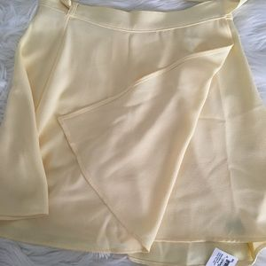 Overlap Skirt - American Apparel